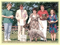April winning the prized Elizabeth Keegan Memorial Award, 1994.