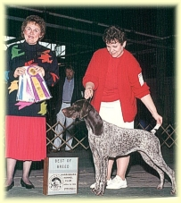 April winning Best Of Breed